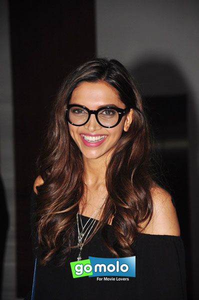 Deepika Padukone at the Wrap-up party of Hindi movie 'Tamasha' in Mumbai