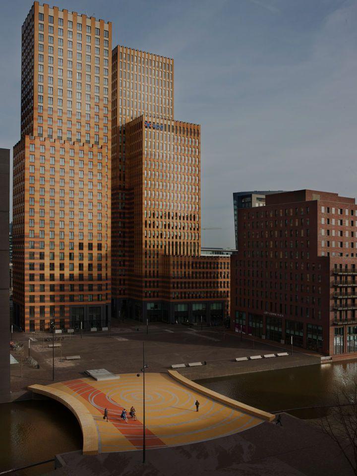 Dok architecten, Arjen Schmitz · Lex van Deldenbrug - Zuidas Amsterdam