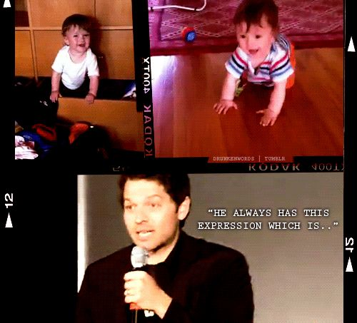 The many faces of Misha Collins, Jared Padalecki and Jensen Ackles: Direct line to my funny bone...