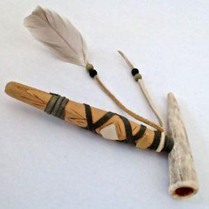 Collection. Métier d'art. Pipe amérindienne L