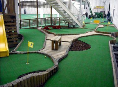 32 best ideas about mini golf on pinterest fence design for Indoor golf design