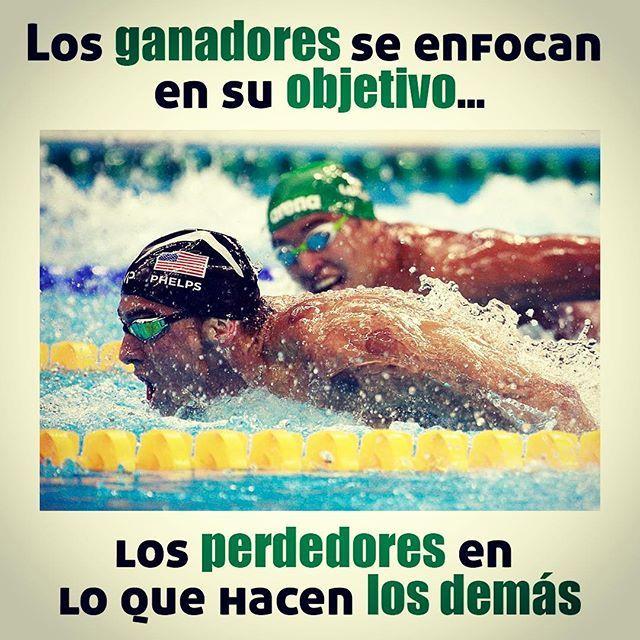 #ganadores #perdedores #metas #objetivos #rio2016