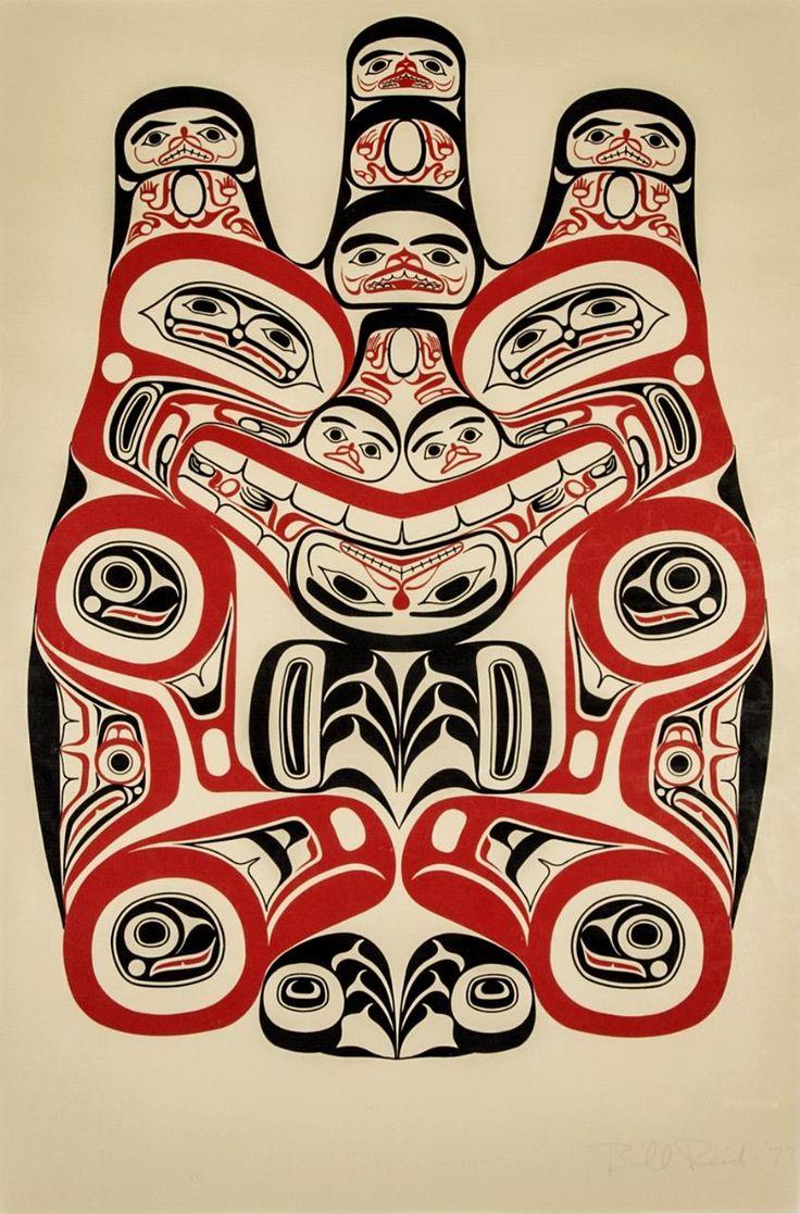Bill Reid - Haida Grizzly, 1973 - Maynards Industries - Fine Art & Antiques MOA - UBC http://www.rrncommunity.org/items/3856