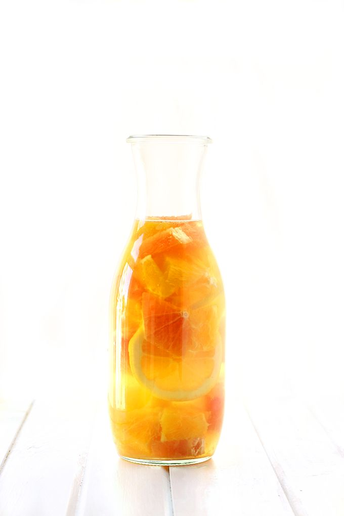 This Citrus Burst Kombucha Sangria, made with white wine, gut-friendly kombucha and citrus fruits make a healthier cocktail alternative. Your guests never need to know that this drink recipe may actually be good for them!
