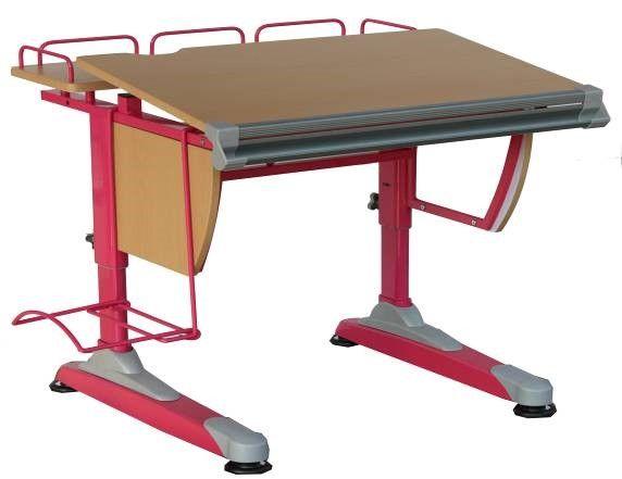 Детская парта-трансформер LB-D05                                                              Детская парта-трансформер LB-D05 - позволяет оптимально настроить рабочее место для вашего ребенка               Данная парта- трансформер многофункциональна и практична. В комнате она не занимает много места, но площади регулируемой столешницы достаточно для комфортных занятий.    Парта-трансформер снабжена так же желобком-пинал для письменных принадлежностей.               Ширина: 75 см;  …