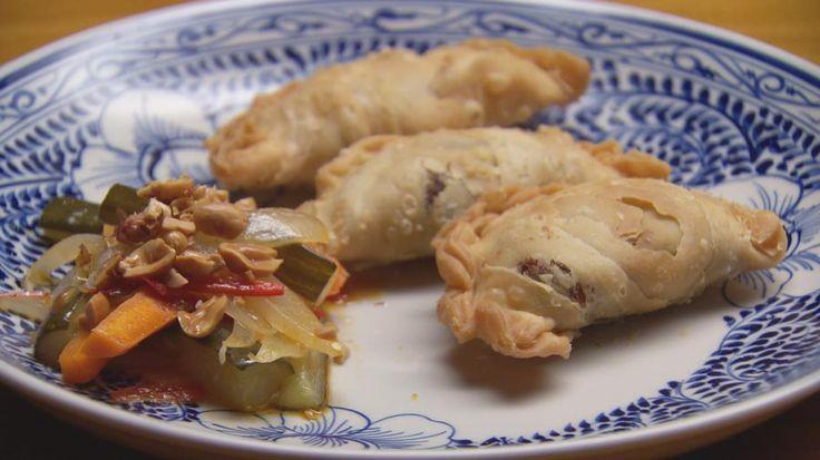 Curry Puffs with Grandma's Acar - Masterchef Australia