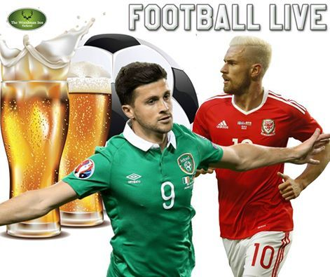 BIG Game Tonight!!! Wales host the Republic of Ireland with victory for either side guaranteeing them a World Cup qualifying play-off spot. Live at the Woody! :-)⚽⚽ Wales v Republic of Ireland Kick Off Off 7:45pm #thewoodmaninn #forestofdean #football #WorldCup #wales #Ireland www.thewoodmanparkend.co.uk