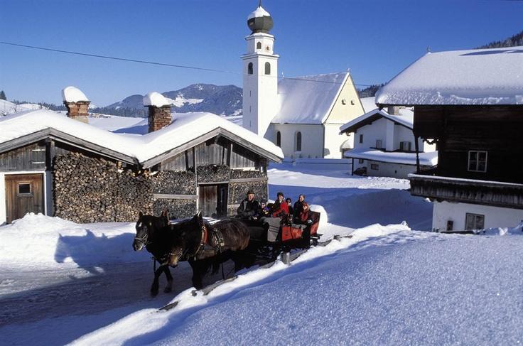 Wildschönau-Thierbach, Kirche Hl. Michael (Kufstein) Tirol AUT
