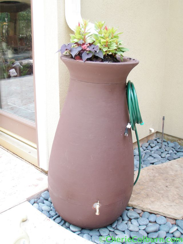 10 fotos de mini cisternas para captação de água - Ideias Green