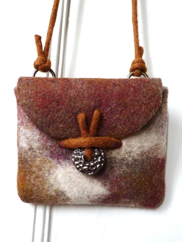 Beautiful felt bag ♥
