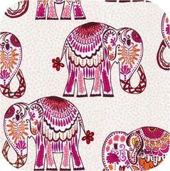 Jules & Indigo - Elephants in Pomegranate