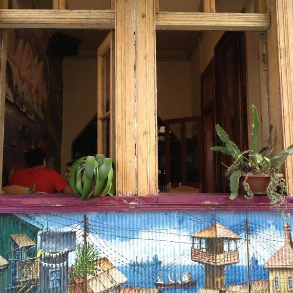 Cafetería en Valparaíso Café del Pintor