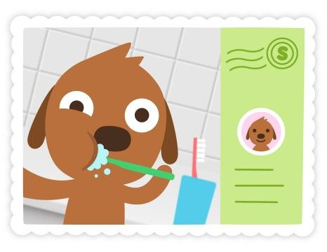 SAGO MINI MAIL: Get digital postcards from your favourite characters, daily! Available in Sago Mini World.