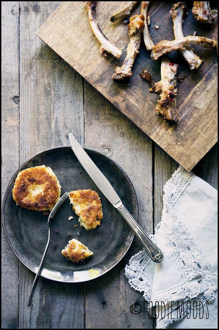 Pastinaak aardappel koekjes