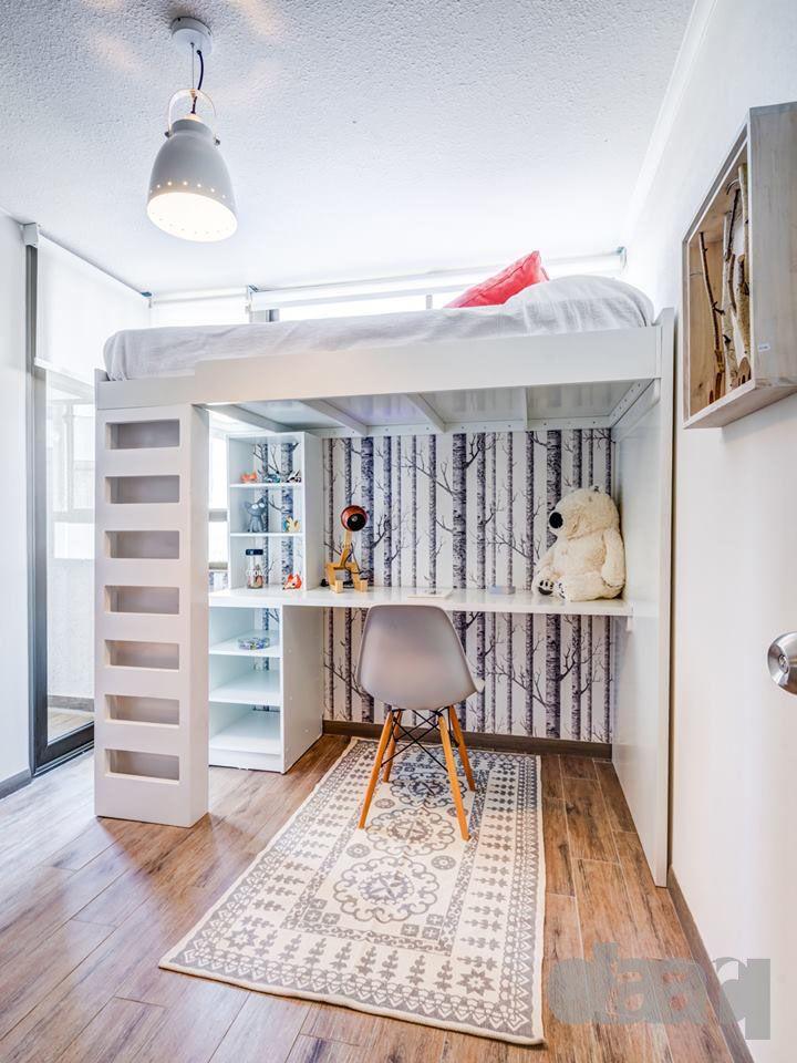dormitorio infantil piloto parque macul  #interiorismo #diseño #decoracion #daarq #kidsbedroom #dormitorioinfantil