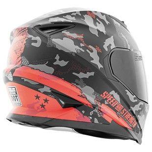 Speed and Strength SS1600 Straight Savage Helmet - 28