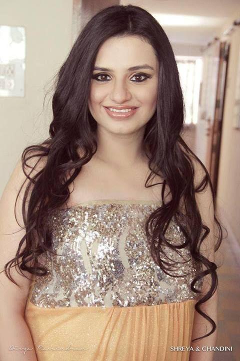 Gorgeous Dia all set for her baby shower  #Makeup #MakeupbyShreyaandChandini
