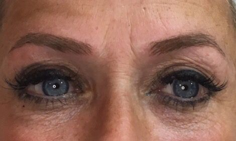 Loved doing these! Microblading brows