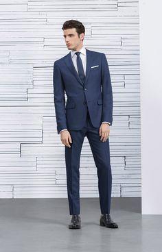 Alexandre Schiffer for Hugo Boss SS15 Lookbook Estilo homem moderno gostei do terno