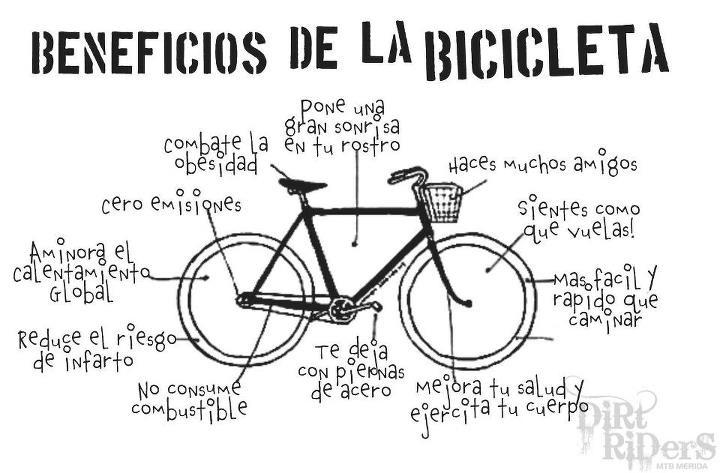 Beneficios de hace Ciclismo