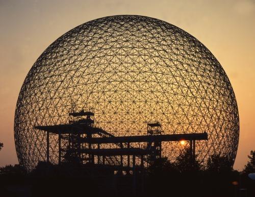 Buckminster Fuller - 1895-1983 - Geodesic Dome - Biosphere - Montreal