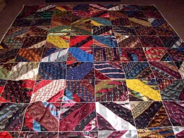 17 Best images about Tie Quilts on Pinterest | Necktie quilt ... : mens necktie quilts - Adamdwight.com