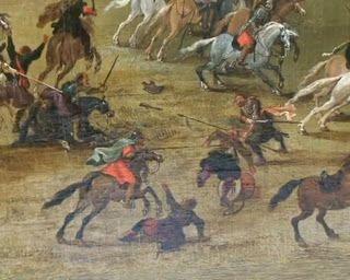 Pieter Snayers Battle of Kircholm, Winged Hussars