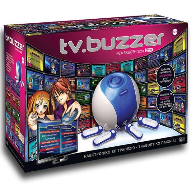 Κέρδισε τη νέα ασύρματη Παιχνιδο-κονσόλα TV Buzzer High Definition