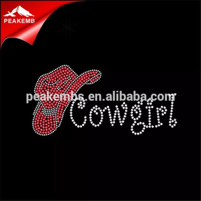 3a128bfa6567b Source I Love My Hotfix Rhinestone Transfer Cowgirl Hat Flat Back Clear  Rhinestone on m.alibaba.com