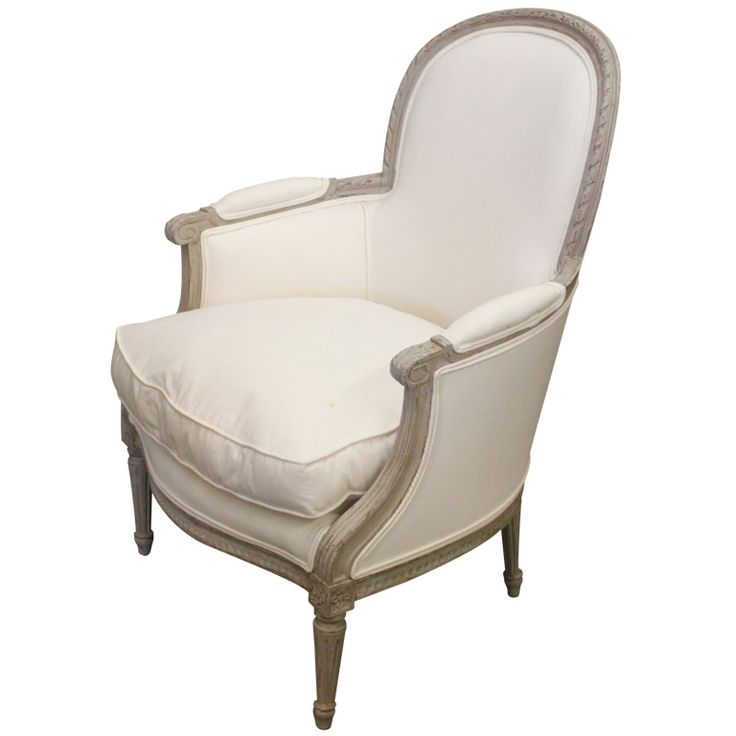 French Bergere Painted Chair