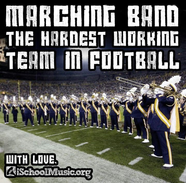 No hate, but this is honestly the truest thing I have ever read about marching…