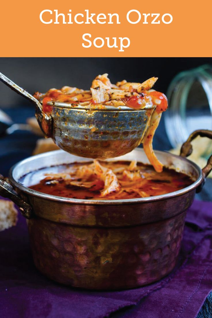 Featuring hearty chunks of protein, this recipe for Tomato Chicken Orzo Soup is just the dish your family will love on a chilly winter day. Plus, when made with friends, it becomes a wonderful conversation starter.