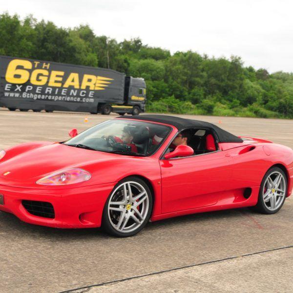 Junior Driving Experiences in Ferrari. Supercar Driving Experience for kids Juniors just need to be 5 foot tall