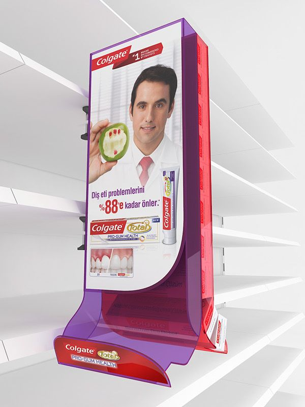 Colgate Stand Units on Behance