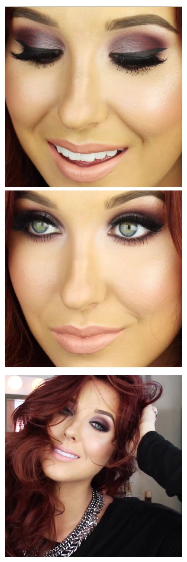 Love this girls makeup tutorials! @Jaclyn Hill