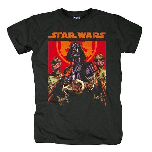 Bravado Herren T-Shirt Star Wars - Dark Force, Gr. X-Large, Schwarz (Schwarz