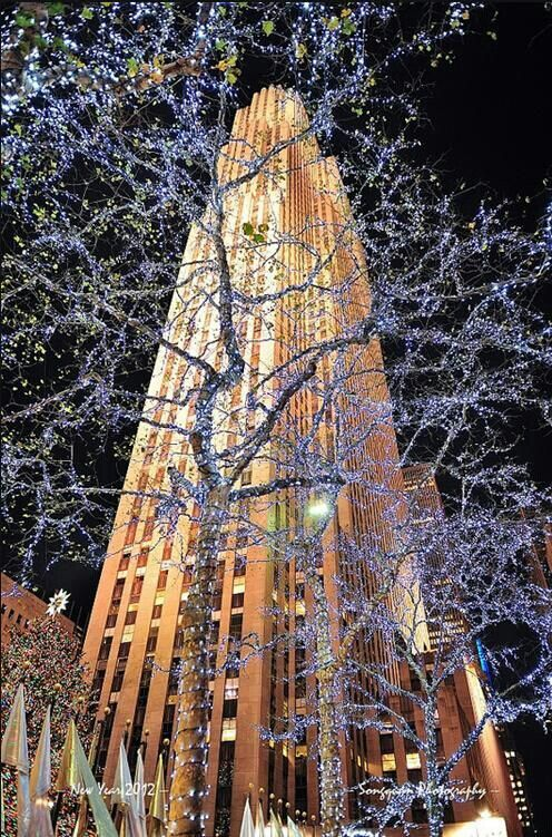 nyc at christmastime