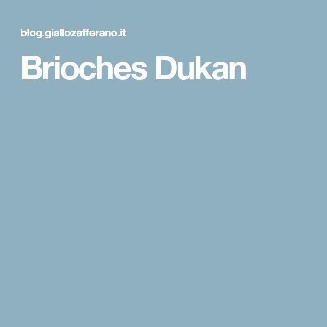 Brioches Dukan
