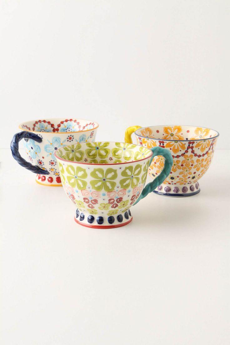 tea cup Anthropologie