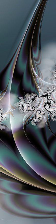 """Seduction"" — A sensuous original fractal fine art image by #danturnerartist Dan Turner. Cropped for Pinterest. http://DanTurnerFineArt.com — See the full uncropped image at http://dan-turner.artistwebsites.com/featured/seduction-dan-turner.html"