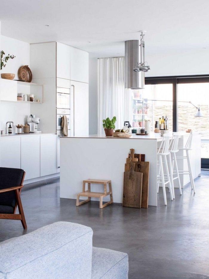 ▷ 1001 + Idées Pour Une Implantation Avec Un îlot Central De Cuisine Au  Coeur De Lu0027espace | Rooms | House, Home, Sweet Home