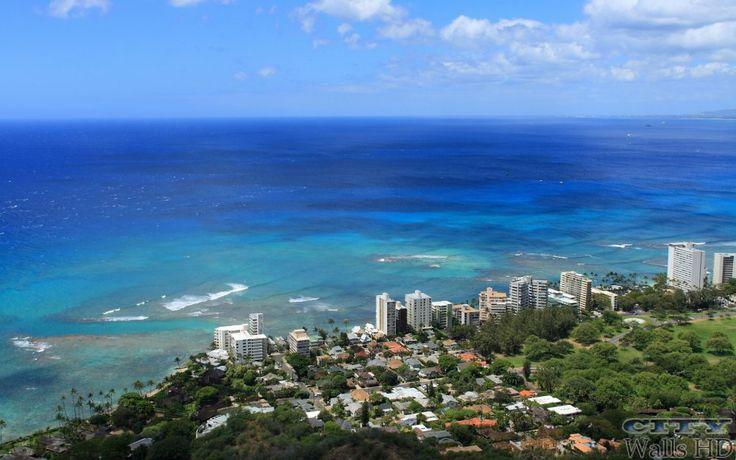 Wallpaper mit dem Bild von Honolulu