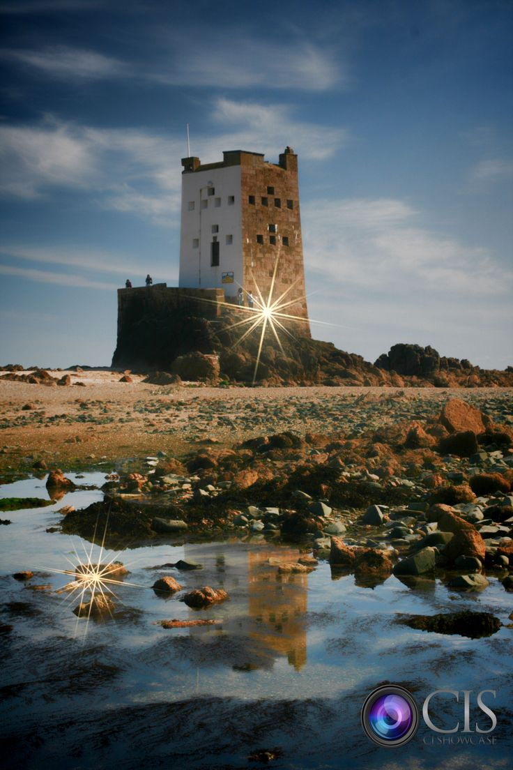 Seymour tower Jersey Channel Islands