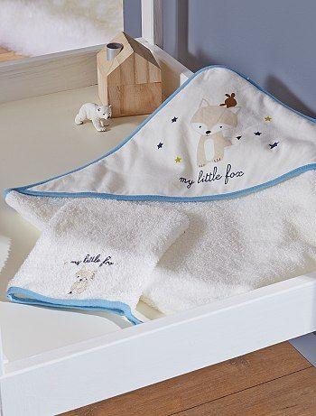 Badcape en washandje Jongens babykleding 12,00€ voor Bad- Ontdek onze klein geprijsde collecties op de afdeling {3}