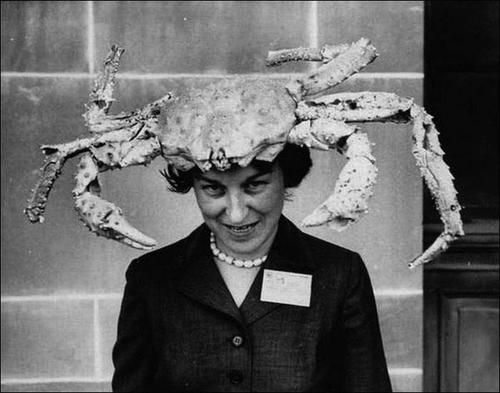 Cancer-head lady.