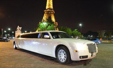 Balade dans Paris en limousine: #LONGPONTSURORGE 129.00€ au lieu de 250.00€ (48% de réduction)