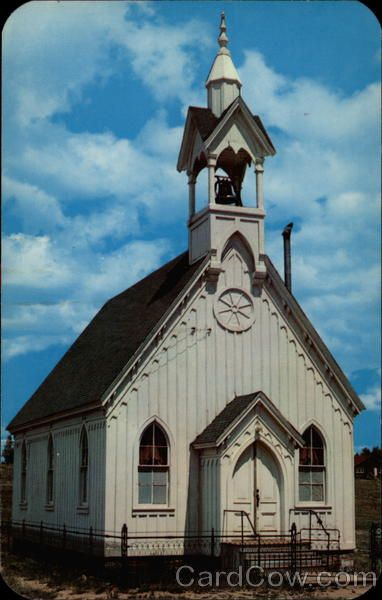 Old Church in Fairplay Colorado. We got married there.