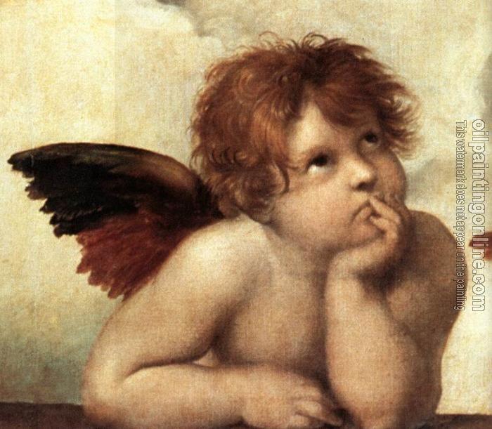 The Sistine Madonna - Raphael Sanzio da Urbino