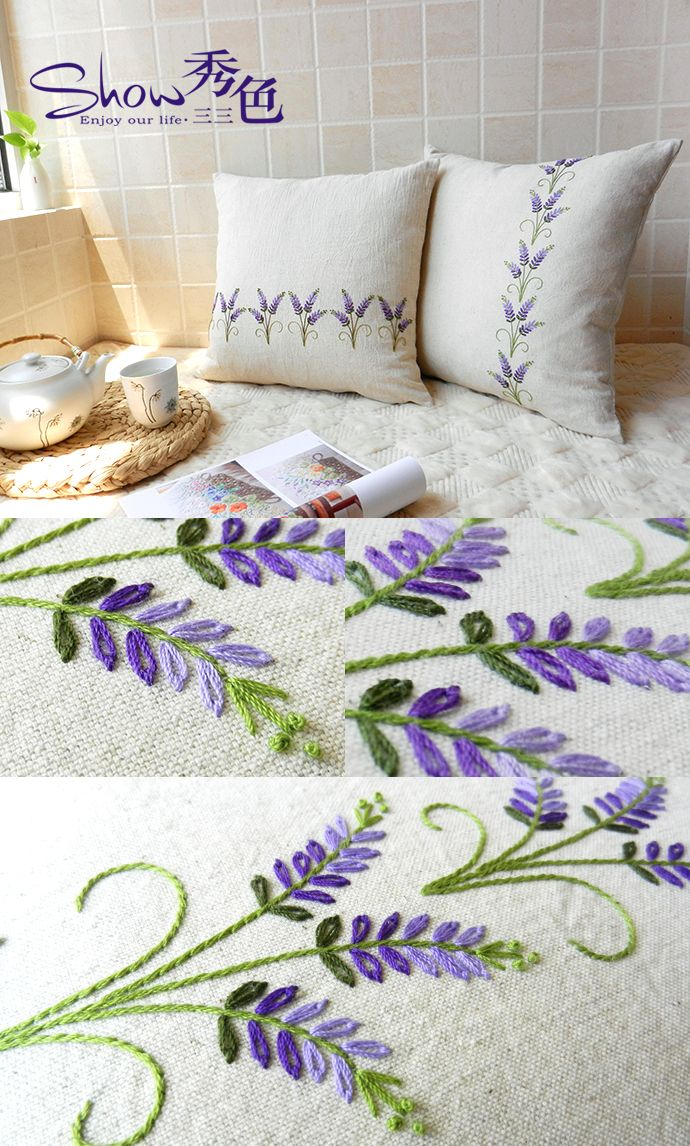 Brazilian embroidery bedspread designs - Find This Pin And More On Nak Lar Embroidery By Zekiyeturkey Pretty Pattern For Lavender