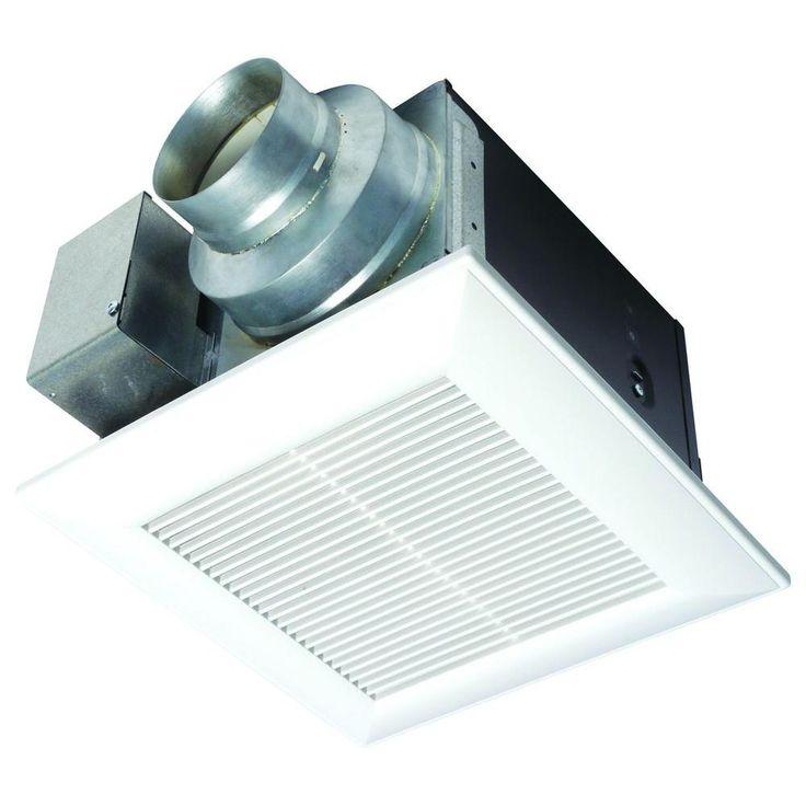 Panasonic WhisperCeiling 50 CFM Ceiling Exhaust Bath Fan, ENERGY STAR*
